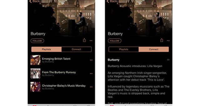 První spolupráce Applu a Burberry od doby, co Apple převzal firmě ředitelku
