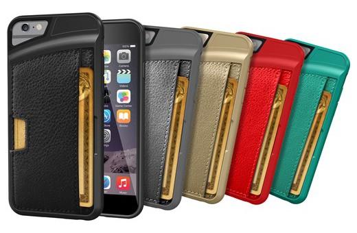 Peněženka a kryt na iPhone v jednom