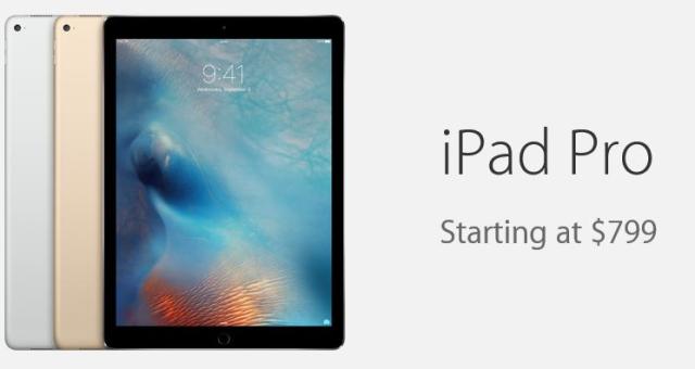 Apple je se spuštěním prodeje iPadu Pro opatrný