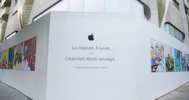 Belgie na konci září dostane svůj první Apple Store