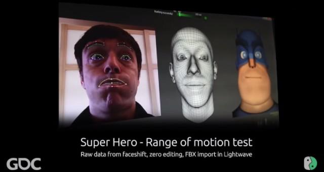 Apple údajně koupil firmu na výrobu motion capture Faceshift