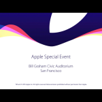 Apple přidal celé video z konference na Youtube