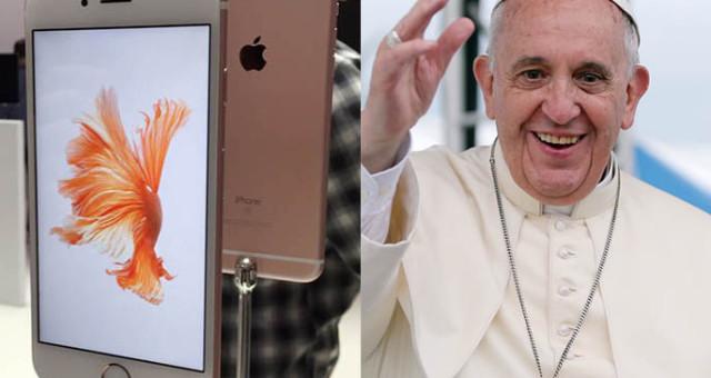 Dodávky iPhone 6s by v NYC a Philadelphii mohla ohrozit návštěva papeže Františka