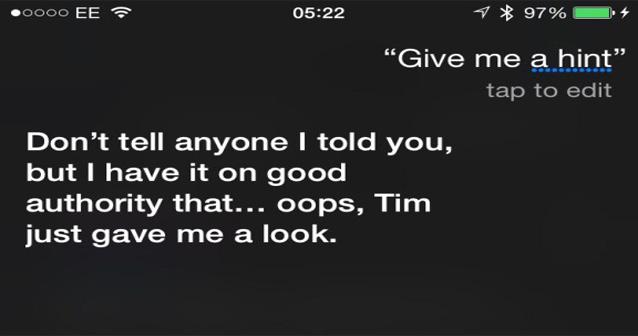 """Nové """"Hey Siri, give us a hint"""" vtipy mluví o zítřejší konferenci"""