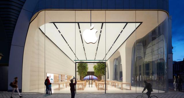 První next-gen Apple Store otevřen v Bruselu. Fotky a video uvnitř