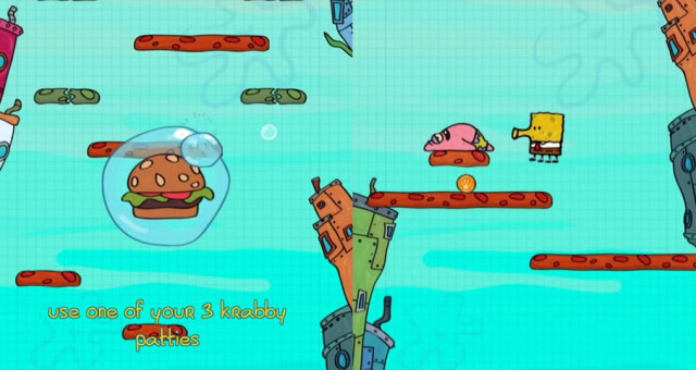 App of the Week je tento týden Doodle Jump SpongeBob SquarePants