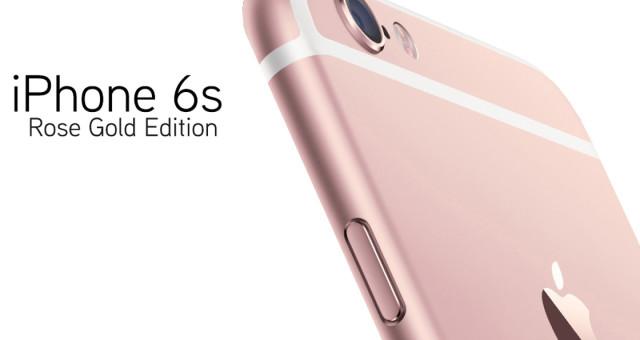 Rose gold verze iPhonu 6s tvoří 40% všech objednávek