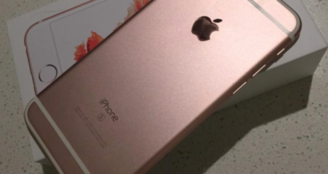 Zákaznice omylem obržela nový iPhone 6s již před jeho vydáním