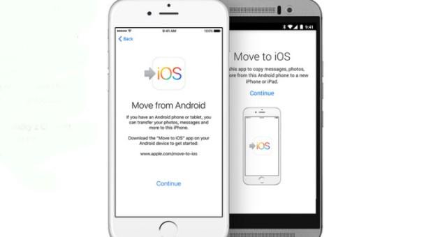 Aplikace pro přechod z Androidu na iOS byla pravděpodobně pouze přejmenována