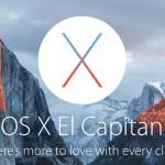 Apple oznámil, že nový operační systém pro Mac, OS X El Capitan, bude vydaný již dnes, 30. září!
