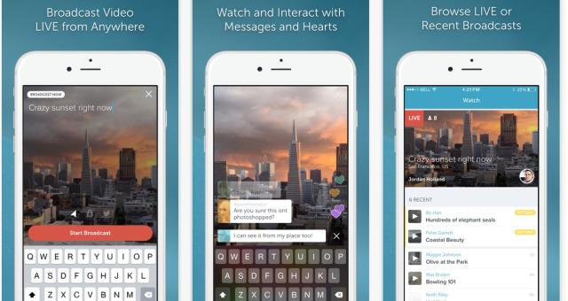 Streamovácí služba Periscope vyvíjí aplikaci pro novou Apple TV