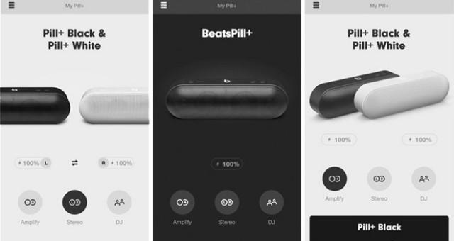 Uživatelské recenze na Google Play pro aplikaci na ovládání Beats Pill+: aplikace mi způsobila rakovinu a zabila psa