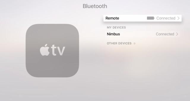 Jak spárovat bluetooth kontroler s Apple TV?