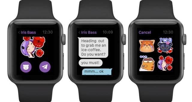 Viber představil svojí aplikaci pro Apple Watch