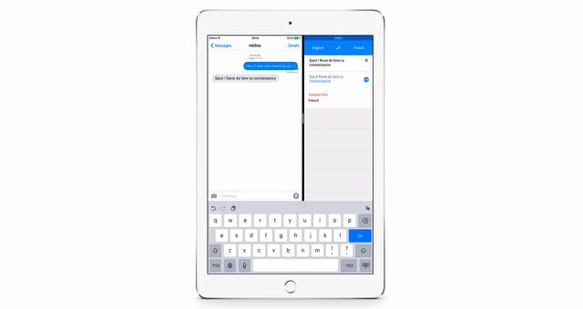 Další aplikace, ve které na iPadech budete moci používat Split Screen, je Google Translate, včetně nové aktualizace tištěných textových překladů pro více jazyků