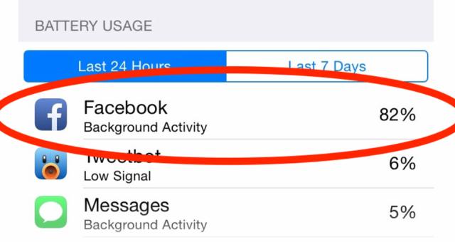 Facebook  vysvětluje, co stojí za problémy s baterií