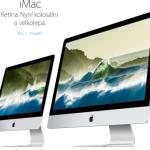 Apple spustil prodej nových iMaců