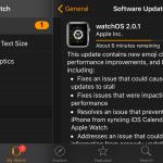 Apple vydal watchOS 2.0.1 s vylepšením životnosti baterie a dalšími opravami chyb a také tvOS pro Apple TV
