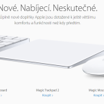 Apple představil nový Magic Mouse 2, Magic Trackpad 2 a Magic Keyboard