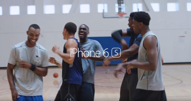 Apple zveřejnil další reklamu na iPhone 6s, vystupuje v ní hráč NBA Stephen Curry