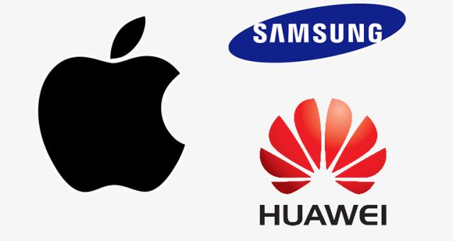 Apple a Huawei prodejně dotahují Samsung