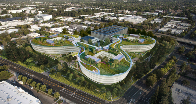 Apple plánuje v Silicon Valley postavit další sídlo