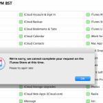 Někteří uživatelé hlásí výpadek iTunes a App Store