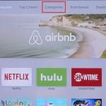 """App Store pro Apple TV dostal sekci """"Kategorie"""""""