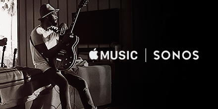Služba Apple Music bude dostupná na reproduktorech od společnosti Sonos