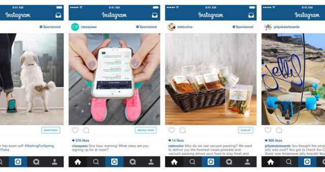 Instagram testuje interaktivní reklamy sForce Touch, objednání přímo zaplikace a Apple Pay