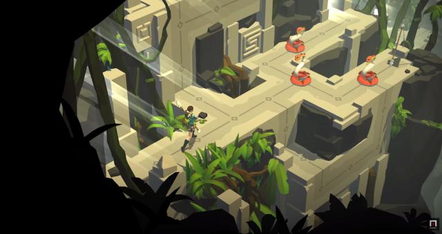 Hra Lara Croft GO na iOS dostala výrazné rozšíření