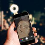 Málo světla při focení selfie? Zkuste SELFLASH