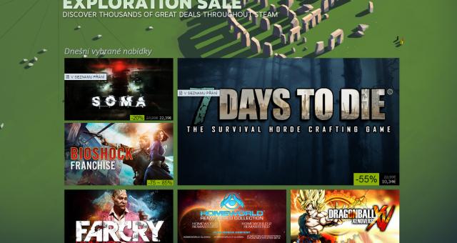 Na Steamu probíhá výprodej her i pro OS X