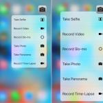 Jak přidat Panorama a Časo-sběr 3D Touch zkratky k aplikaci Fotoaparát