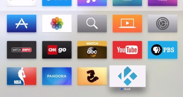 Jak nainstalovat Kodi na novou Apple TV 4