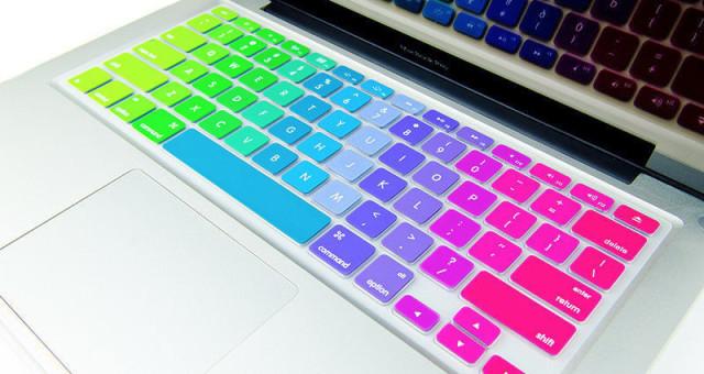 Klávesnice MacBooku bude za běhu měnit svůj vzhled