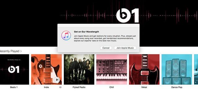 iTunes Radio od teď požaduje předplatné Apple Music