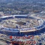 Podívejte se na nové video ze stavby Apple Campus 2
