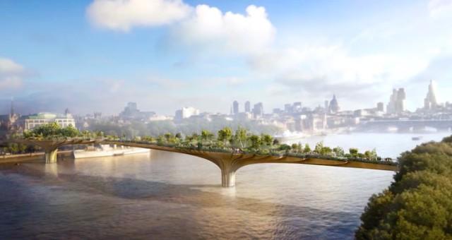 Londýn chtěl, aby Apple sponzoroval stavbu Garden Bridge