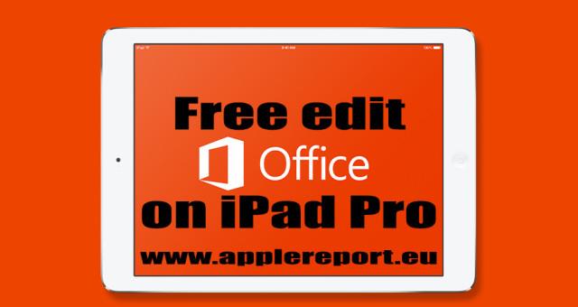 Exkluzivně: chyba v Microsoft Office umožní editaci dokumentů na iPadu Pro zdarma!