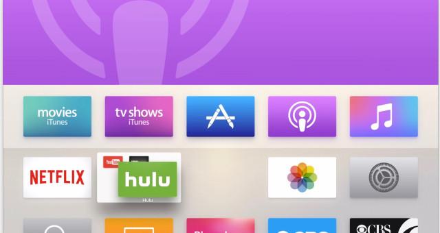 Apple TV App Store dostal nové kategorie