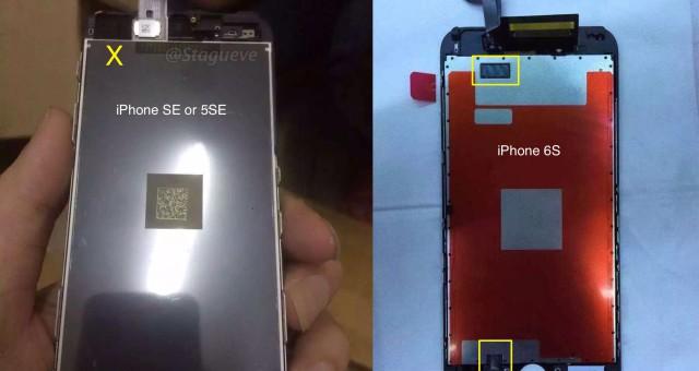Uniklé fotografie displeje iPhonu SE naznačují absenci 3D Touch