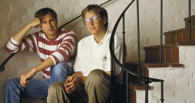 """Bill Gates použil pro popis jeho vztahu se Stevem Jobsem píseň Beatles """"Two of us"""""""