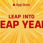 Apple dnes rozdává pět aplikací zdarma k oslavě přechodného roku