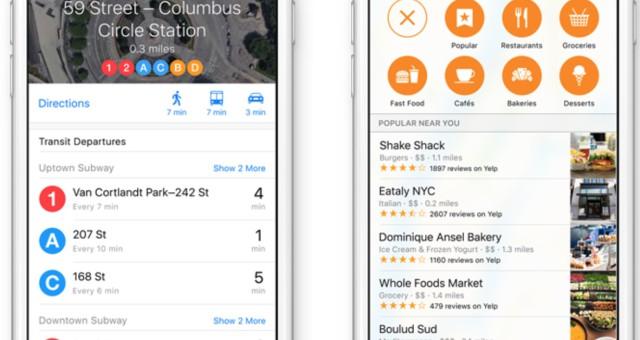 Apple Mapy nově přináší Nearby, Flyover a Dopravní funkce do více zemí a lokací
