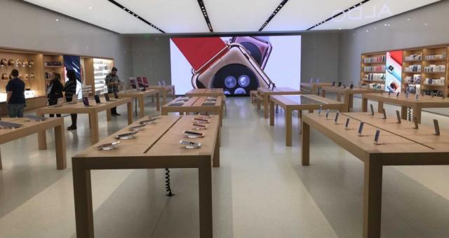 Podívejte se na nové obrazovky v Apple Storech