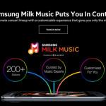 Samsung ruší svojí hudební službu Milk Music