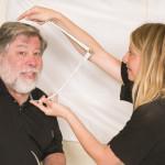 Podívejte se, jak se vytvářela vosková figurína Steva Wozniaka