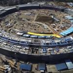 VIDEO: Jak pokračuje stavba Apple Campus
