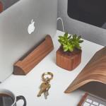 Dřevěný dock pro váš MacBook